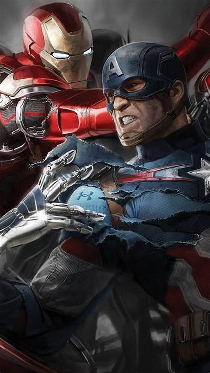 Captain Civil America War Iphone Wallpapers 1080p