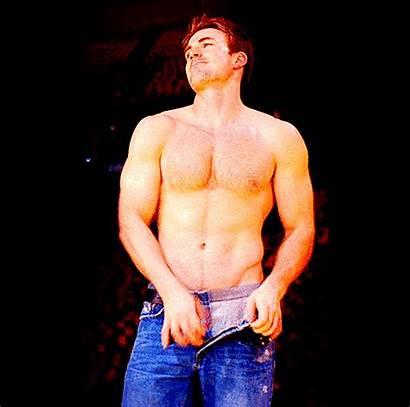 Evans Chris Takes Muscle Jocks Down Pants