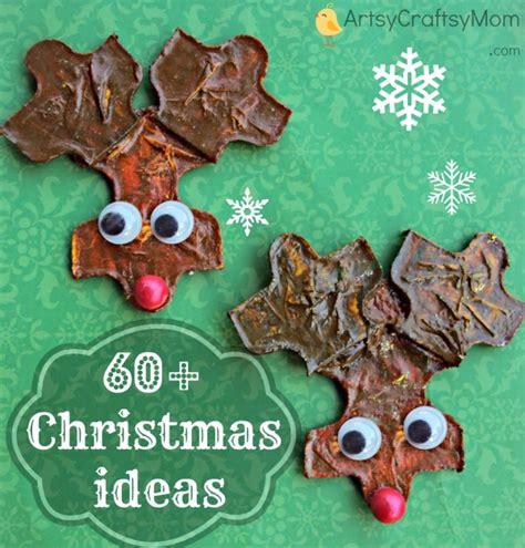 60+ Diy Christmas Crafts Kids Can Make  Artsy Craftsy Mom