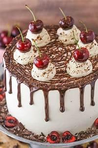 Easy Black Forest Cake Recipe | German Chocolate Cake
