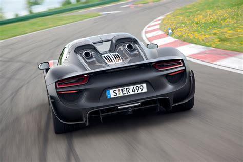 Porsche 918 Spyder Celebrates World Debut In Frankfurt