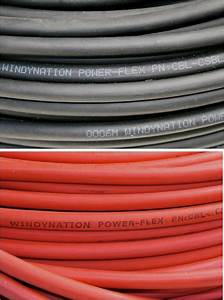 4  0 Awg Welding Cable Wire Red Black Gauge Copper Wire