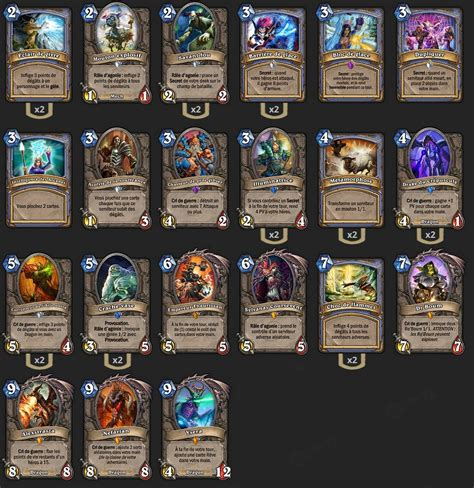deck mage maverick hearthstone heroes of warcraft mage