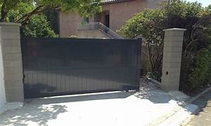 Portail 4 5 M Coulissant : portails coulissants tous les fournisseurs portail ~ Edinachiropracticcenter.com Idées de Décoration