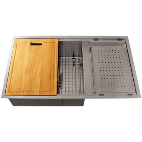 square undermount stainless steel kitchen sink ticor tr4100 undermount 16 gauge stainless steel square