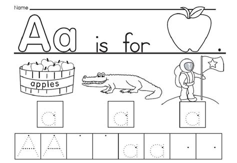 letter a activities the letter a worksheets loving printable 22746
