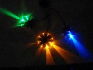 8 Channel Light Chaser Ufo Led Chaser Effect Youtube