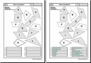 Rechtwinkliges Dreieck Online Berechnen : mathematik geometrie arbeitsblatt dreiecke vierecke quadrat rechteck rhombus rhomboid 8500 ~ Themetempest.com Abrechnung