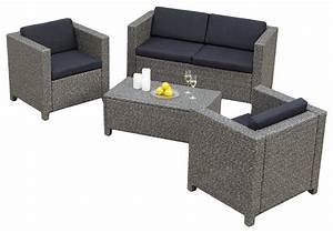 venice 4 piece outdoor wicker sofa set tropical With 4 piece sectional wicker sofa set