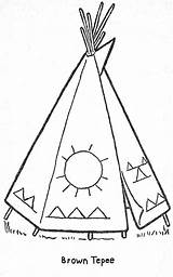 Coloring Teepee Patterns Printable Pages Native American Embroidery Parade Templates Quilt Books Cabin Beading Craft Stitch Cross Stencils Stencil Indian sketch template