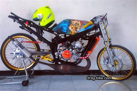 Drag Modifikasi Tercepat 100 foto gambar modifikasi r drag bike racing