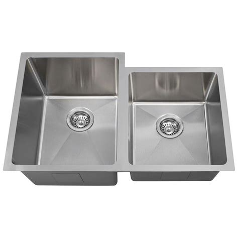 polaris sinks undermount stainless steel 31 in double