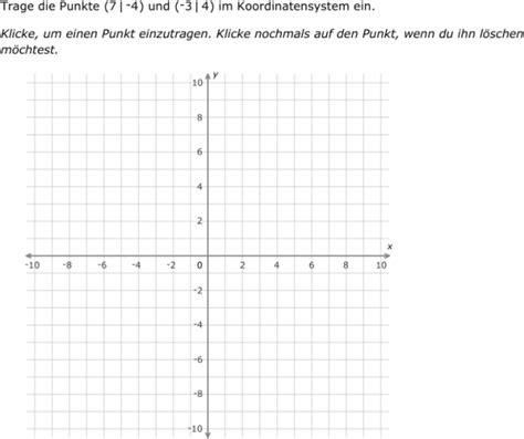 ixl punkte  einem koordinatensystem markieren alle