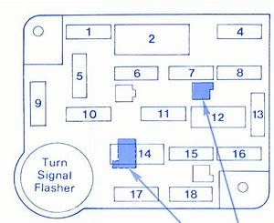 Ford Capri 1986 Fuse Box  Block Circuit Breaker Diagram