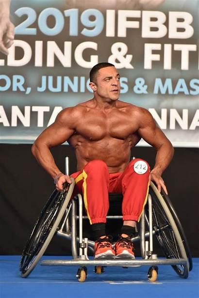 Bodybuilding European Fitness Championships Joan Segura Contest
