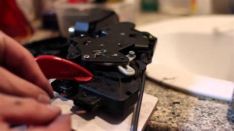 door lock actuator test youtube