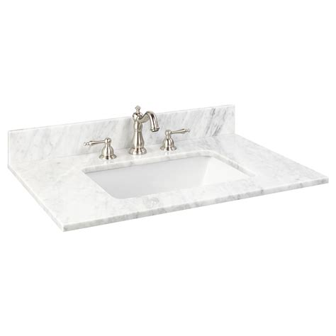 31 granite vanity top with 31 quot x 22 quot marble vanity top for rectangular undermount