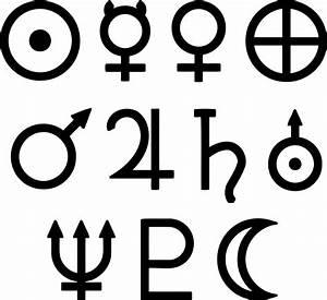Clipart - Solar system symbols