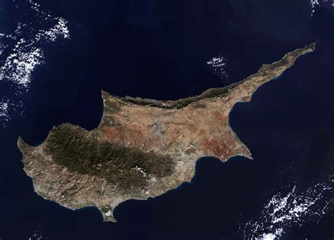 Earth From Space Cyprus Spaceref