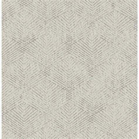 Brewster Fans Grey Texture Wallpaper Sample-2662-001964SAM