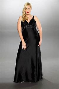 Plus size black dresses for weddings 2014 2015 fashion for Plus size black dresses for wedding