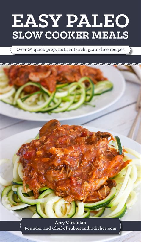 easy cooker meal easy paleo slow cooker meals