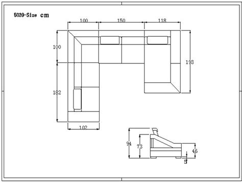 Dimensions Of Sectional Sofa