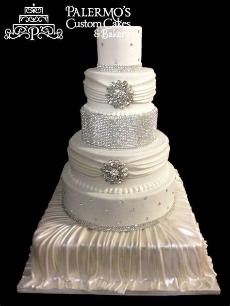 bling wedding cakes rhinestone jewels wedding cake