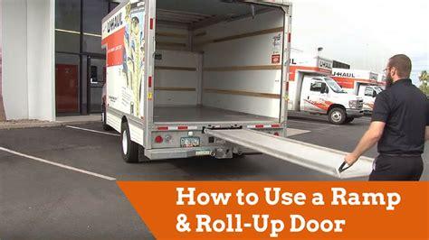 haul truck ramp  roll  door youtube