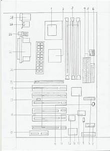 Sketch Of A Motherboard