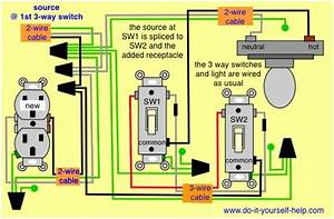 3 Way Outlet Wiring Diagram