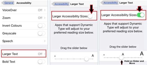 how to change font style on iphone how to change font size and style in iphone on ios 7