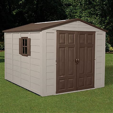 Suncast Shed Accessories Canada by Suncast 174 Storage Building 7 1 2x10 138483 Patio