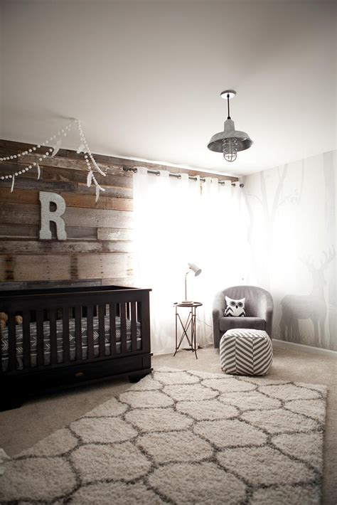 ryders modern rustic outdoor inspired nursery project