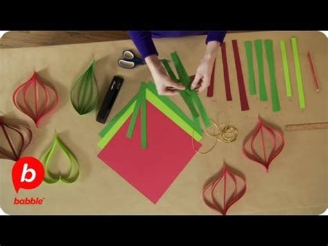 christmas paper ornament decorations crafts