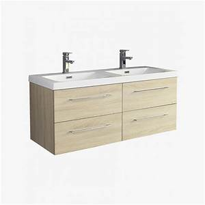 stunning double vasque 100 cm photos lalawgroupus With salle de bain design avec plan vasque double 120 cm