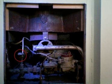 finding gas pilot light to old wall furnace hvac diy chatroom home improvement