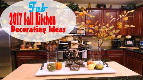 Decorating Ideas For Fall 2015 by 2017 Fall Kitchen Decorating Ideas
