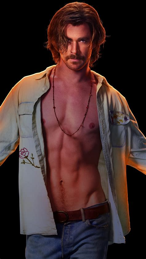 wallpaper chris hemsworth bad times   el royale