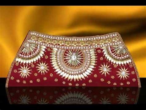 indian clutch bags  wwwindiafashionexpocom youtube