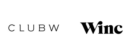 brand new new name logo and identity for winc by ferroconcrete