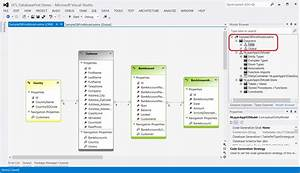 Creating Several Entity Diagrams Within A Single Model In
