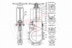 Knife Gate Valve Manufacturer Uni Directional And Bi