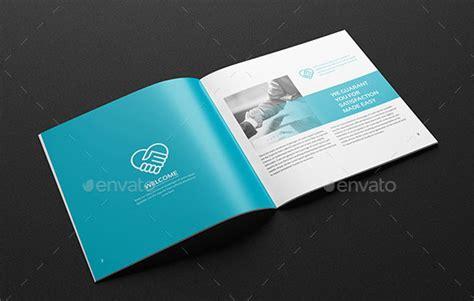striking square brochure template designs web