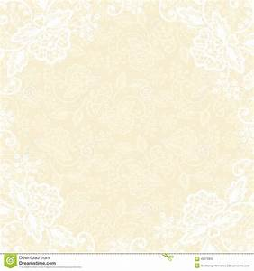 white lace on yellow background stock vector image 45078855 With wedding invitation background designs yellow
