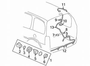 Pontiac Montana Back Up Light Wiring Harness  System