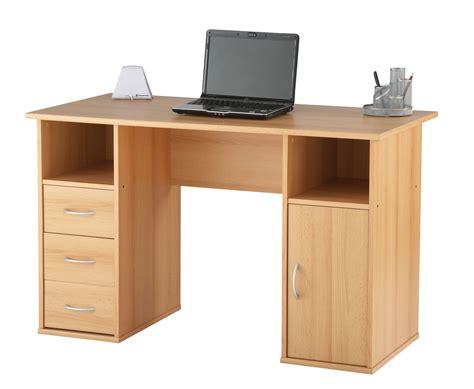 bureau desk beech home office desk lynton