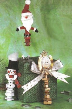 nuts  bolts christmas ornaments christmas  kids