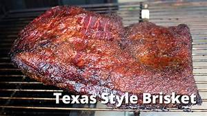 The Perfect Texas Style Smoked Brisket