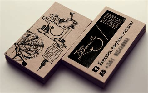 cool  business card designs thearthunters